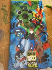 Ben 10 child sleeping bag