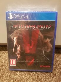 Metal Gear Solid V: The Phantom Pain - PS4 - Brand New & Sealed