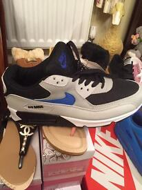 Brand new size 9 grey. Blue size 10
