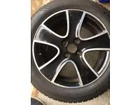 Renault Clio Alloy Wheel and Tyre