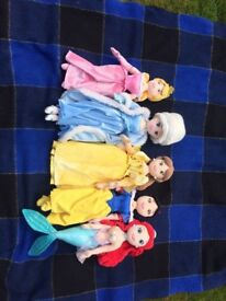 Disney princess soft doll collection