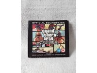 Grand Theft Auto - San Andreas OST CD Hip Hop / Playstation / Soundtrack