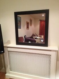 IKEA Black framed mirror