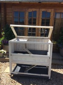 Indoor Rabbit Hutch - Ferplast Cottage