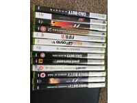 Xbox 360 and 12 games plus controller