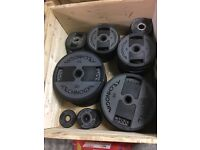 TECHNOGYM OLYMPIC WEIGHT PLATES FORSALE!!