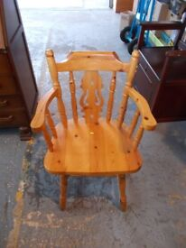 Pine Chair £25