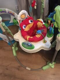 Fisher price rainforest baby jumperoo