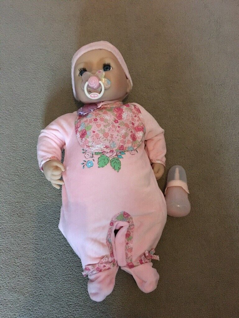 Baby Annabell doll (cries and pees) | in Dunfermline, Fife ...