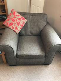3 seater couch and 2 chairs