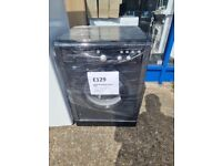 INDESIT 7kg black washing machine with 6 months warranty & delivery