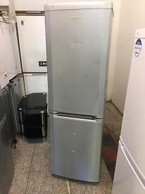 Beko silver fridge freezer
