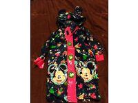 disney store mickey mouse waterproof coat 3-4 years