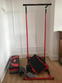 Fitness machine with its bag + step + abs roll last offer!