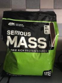 Serious mass weight gain/protein