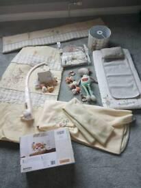 Baby room nursery set
