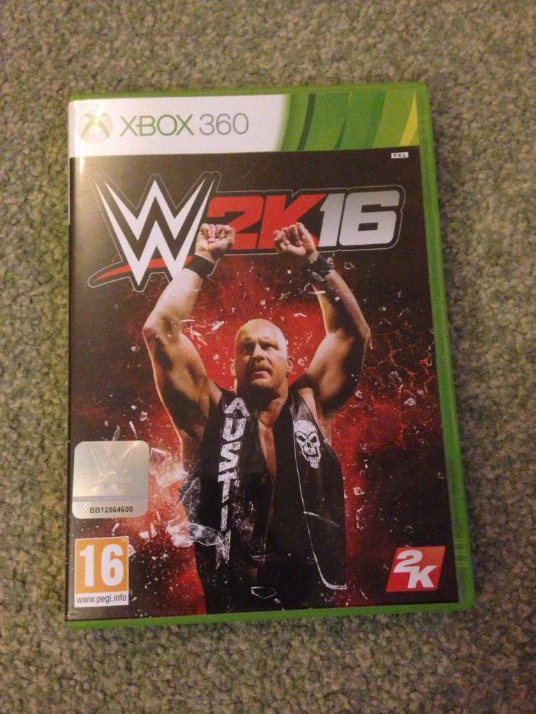 WWE 2016 - XBOX 360