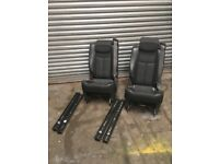 Two isofix chairs for vans or camper conversions