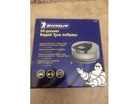 High power rapid tyre inflator