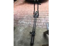Halfords single bike carrier for car roof rack