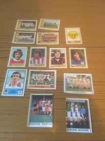 Football cards & stickers