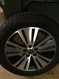 Kia Sportage new alloy and tyre