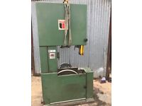 WADKIN Resaw 3 phase with Power Feed