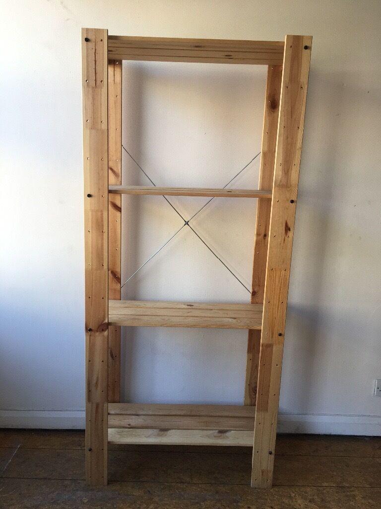 beautiful wood storage shelves ikea 9