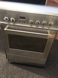 Delonghi oven and hob free standing