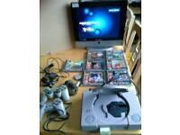 PS1 Consol 7 Games.