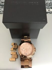 Offers Accepted - Michael Kors Mk5314 Ladies Watch with Rose Gold Bracelet and Rose Gold Dial