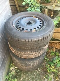 Ford transit connect wheels