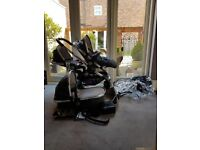 I candy peach 3 travel system