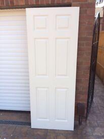 Wood panel effect doors