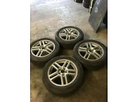 """16""""5stud FORD Alloys with tyres"""
