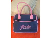 French connection handbag,blue and pink