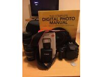 Canon 1000D + Loads of extras