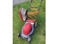Mountfield electric lawnmower