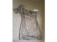 Golden Sparkly Dress