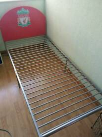 Liverpool FC Single Metal Bed Frame