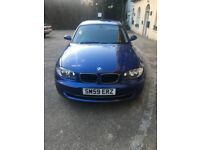 BMW 1 series Blue 59 plate