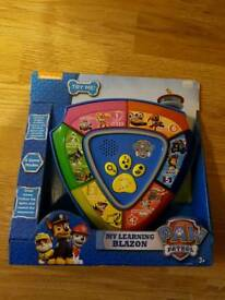 Paw patrol learning blazon