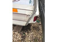 2 berth elddis caravan very well looked after knowle open to near offer
