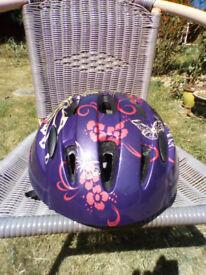 Girl's cycle helmet