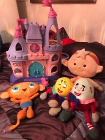 Large Bundle Toys fisher price castle waybalo Etc