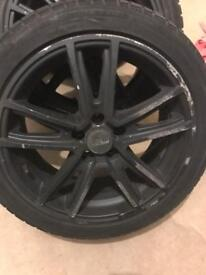 "16"" Fox Alloy Wheels With Nankng Snow SV-2 winter tyres"