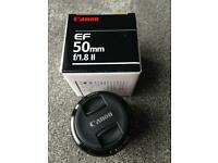 Canon 50mm f/1.8 ll