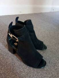 River island peep toe boots