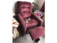 Rise and recline arm chair