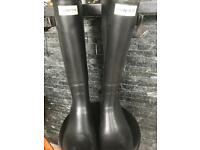 Hunter wellington boots size 10